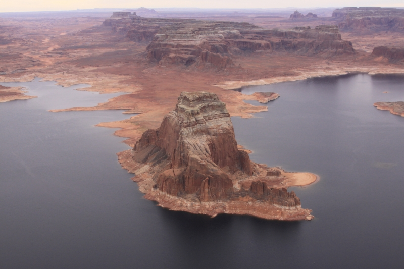 Bird's View Of Lake Powell