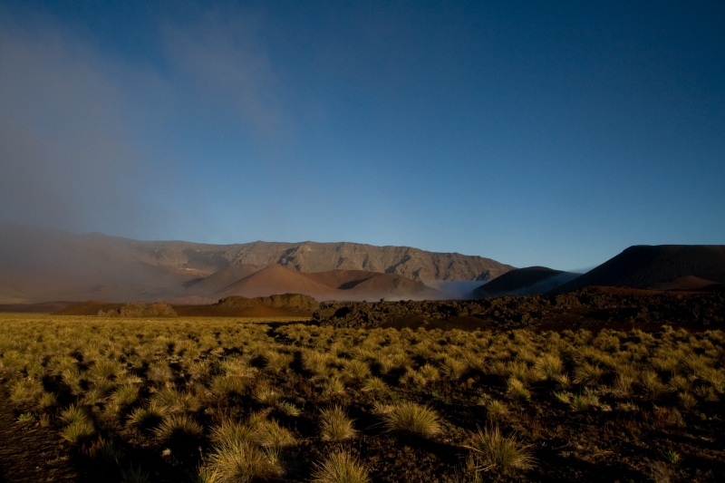 First Light In Haleakala Crater