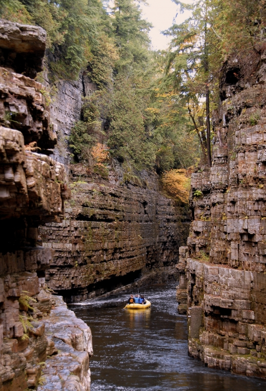 Courage Of Ausable Chasm