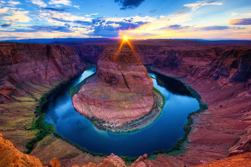 Horseshoe Bend – Sunset