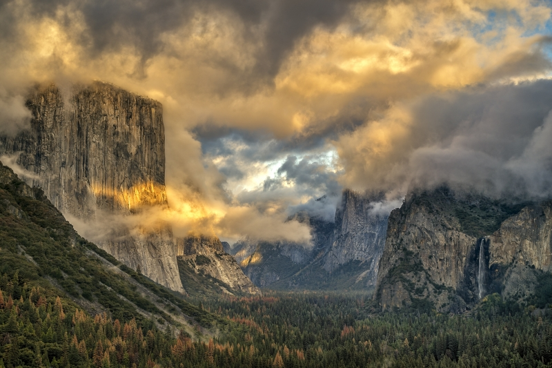 After The Storm, Yosemite National Park
