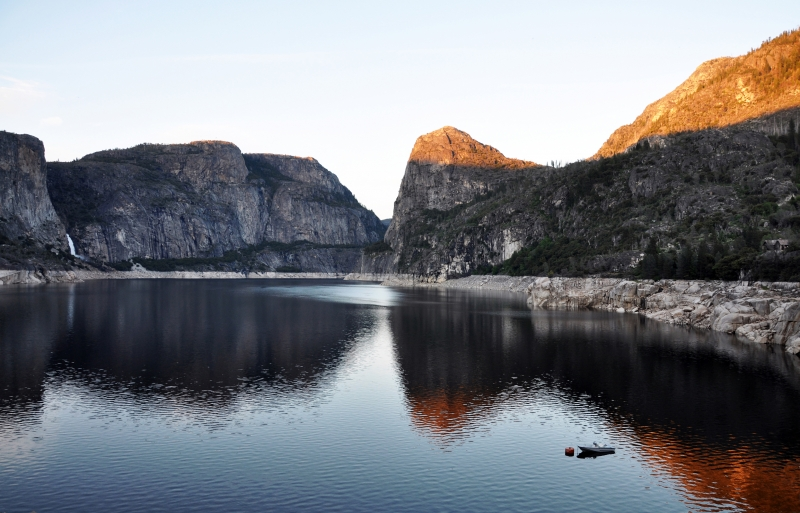 Hetch-hetchy And Wapama Falls