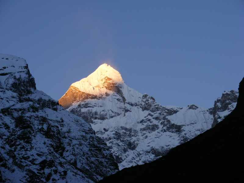 Molten Gold On Mount Neelkanth
