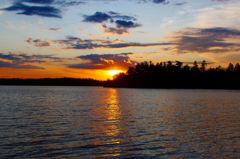 Moose Lake Sunset