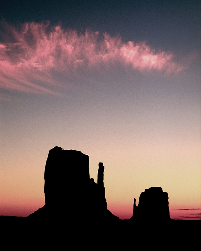 Morning Mittens, Monument Valley