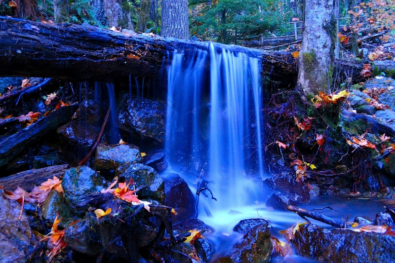 Twilight Waterfall