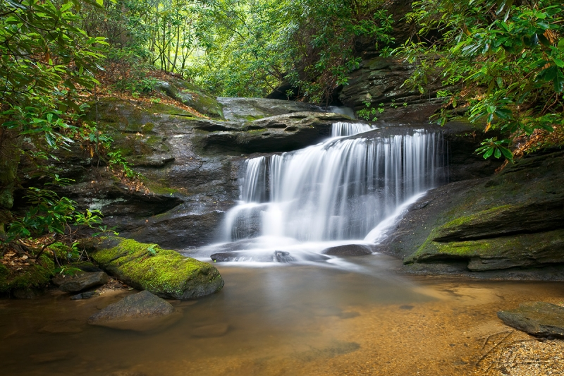 Hidden Falls – Upstate Sc Waterfall Photography