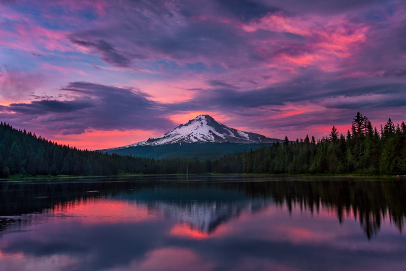 Sunset, Mt. Hood, Oregon
