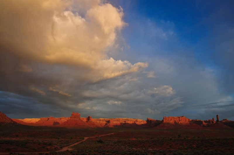 Approaching Spring Storm, Valley Of The Gods