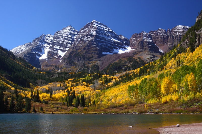 Maroon Bells, Colorado Autumn