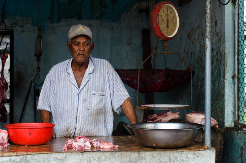 Meat Market Vendor