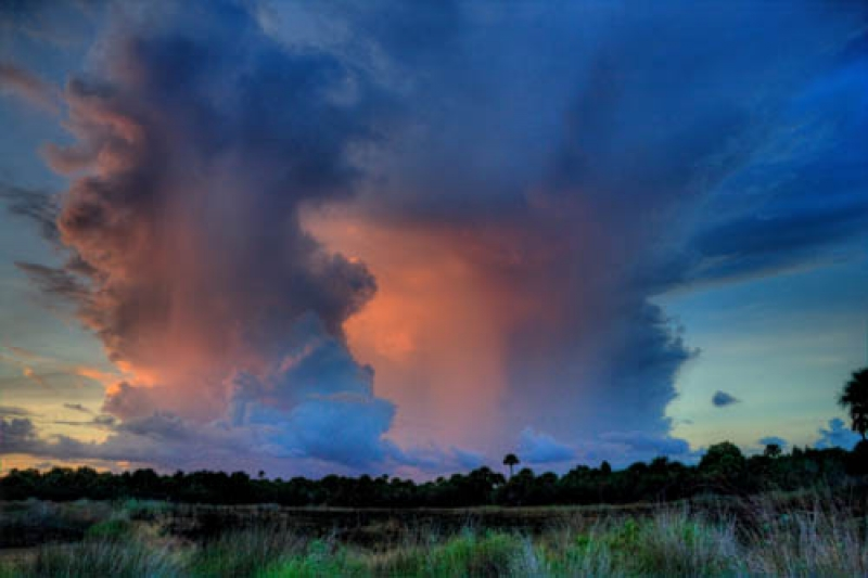 Thunderstorm Over The Refuge
