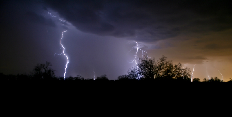 Lightning In Arizona