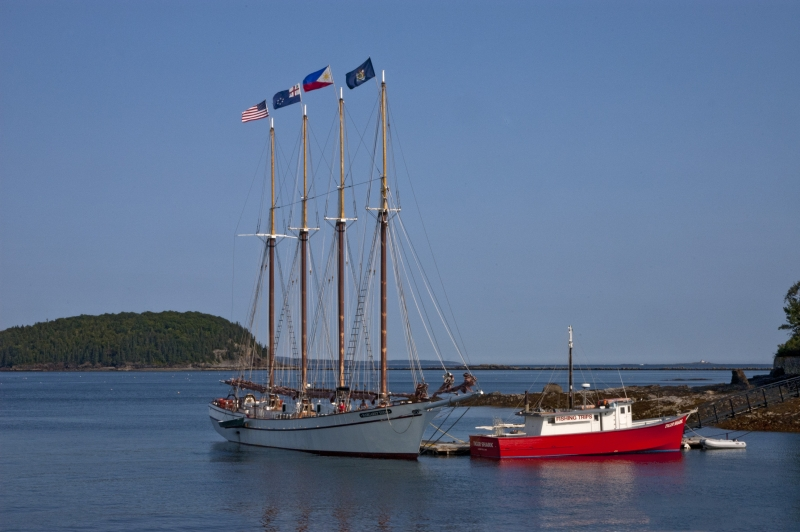 Four Masted Schooner