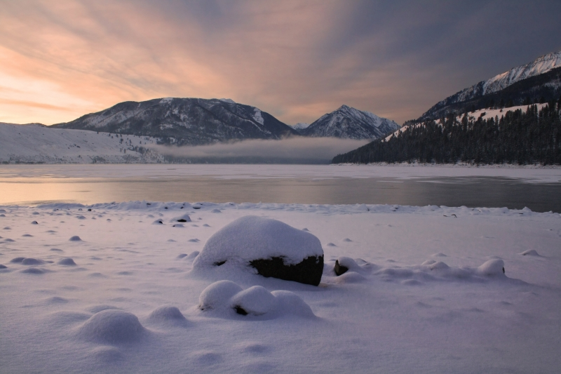 Wallowa Lake Sunrise