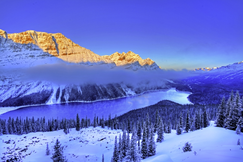 Sunrise, Peyto Lake