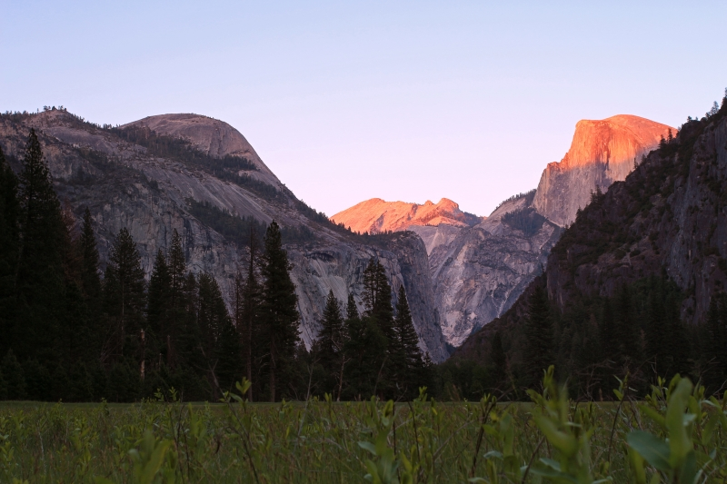 Yosemite Valley Sunset