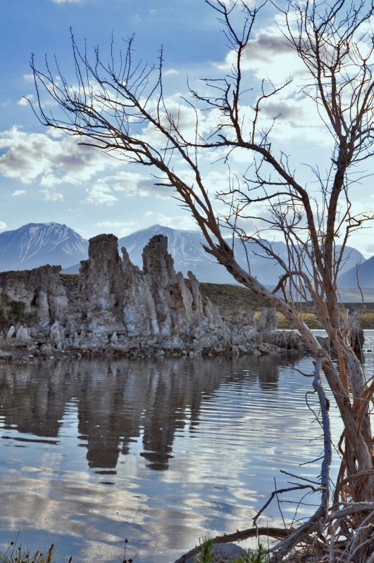 Mono Lake Tufas At Sunset