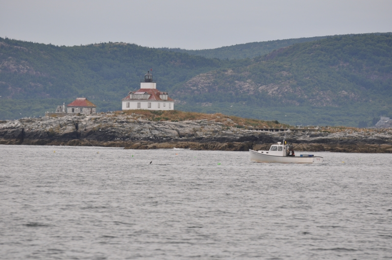 Lighthouse Outside Bar Harbor