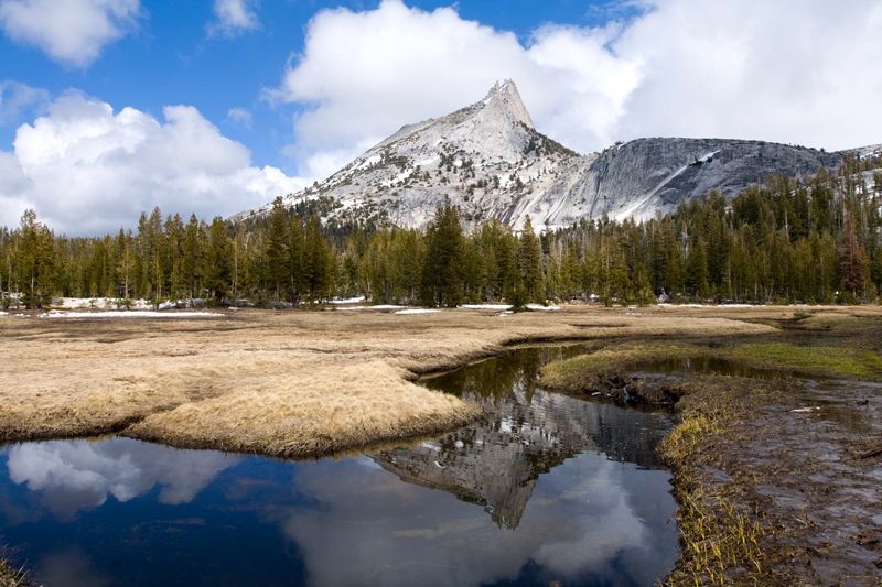 Summer Thaw, Cathedral Peak