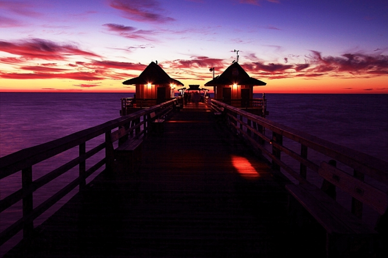 Naples Pier Sunset