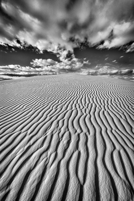 Endless Sand Ripples