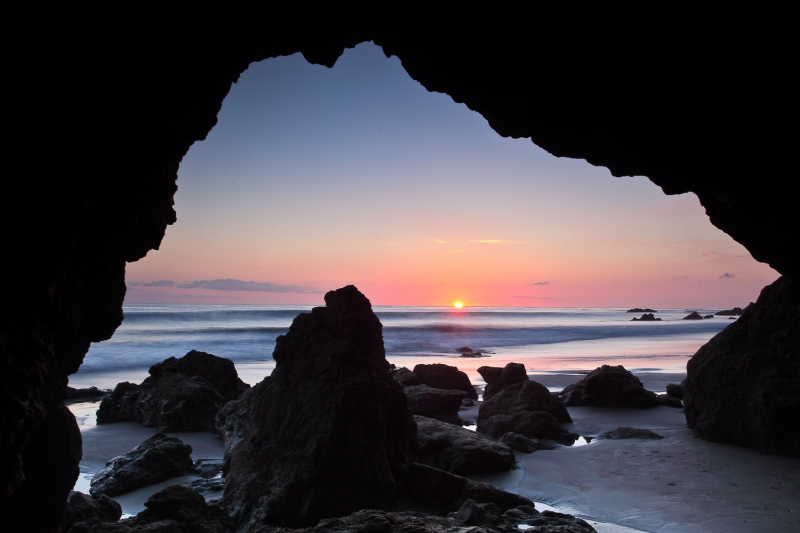 Portal To A Sunset, El Matador Beach