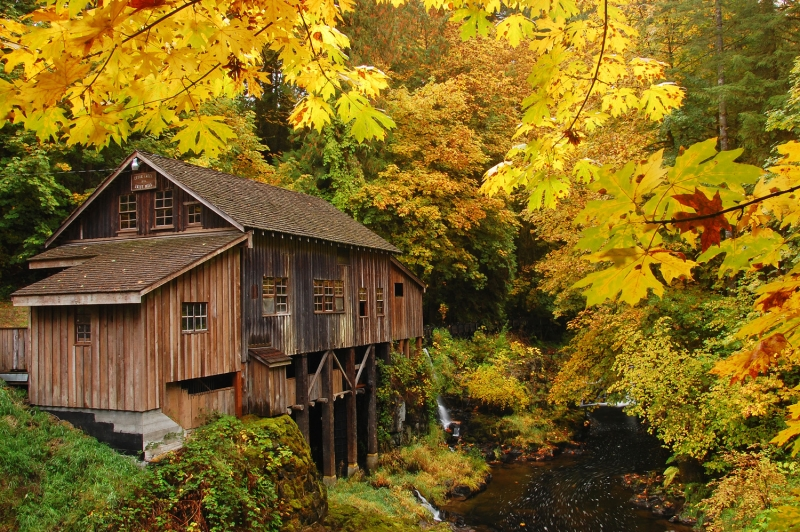 Cedar creek grist mill outdoor photographer for The cedar mill