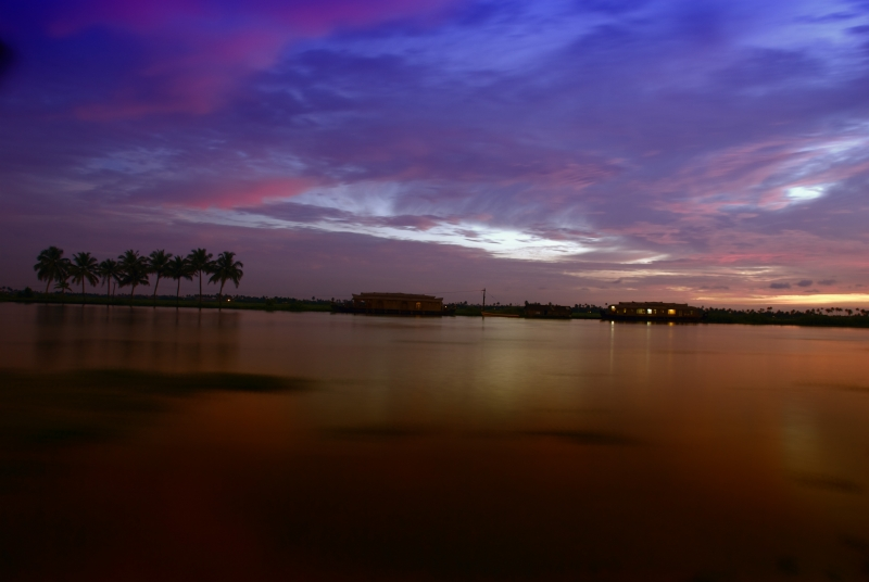 In The Backwaters, Just After Sunset