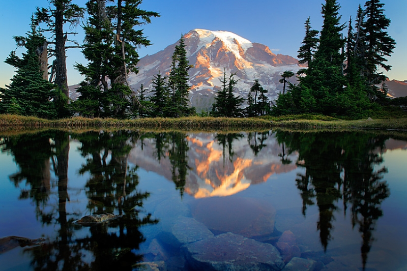 Mount Rainier Tarn