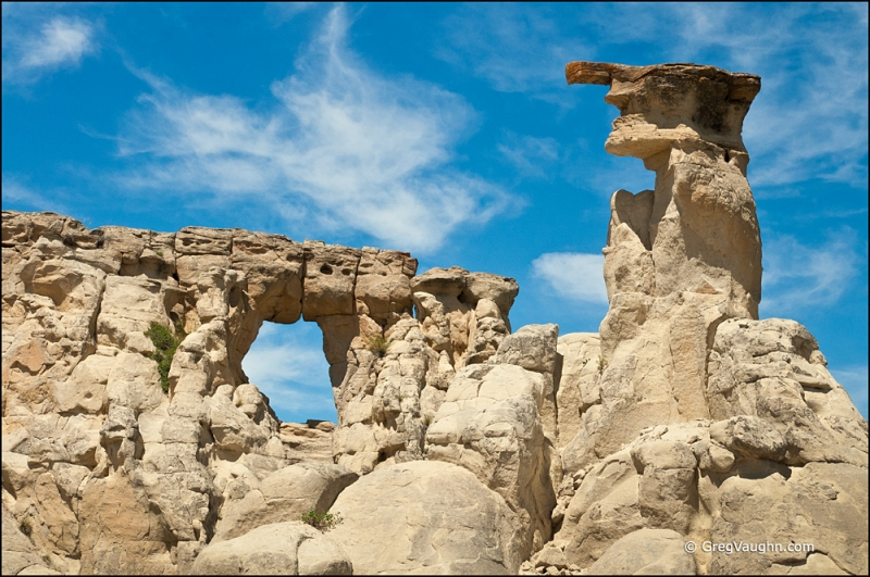 Hoodoo And Hole-in-the-wall