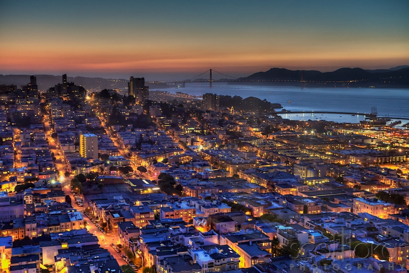 Sfo Coit Tower In Hdr