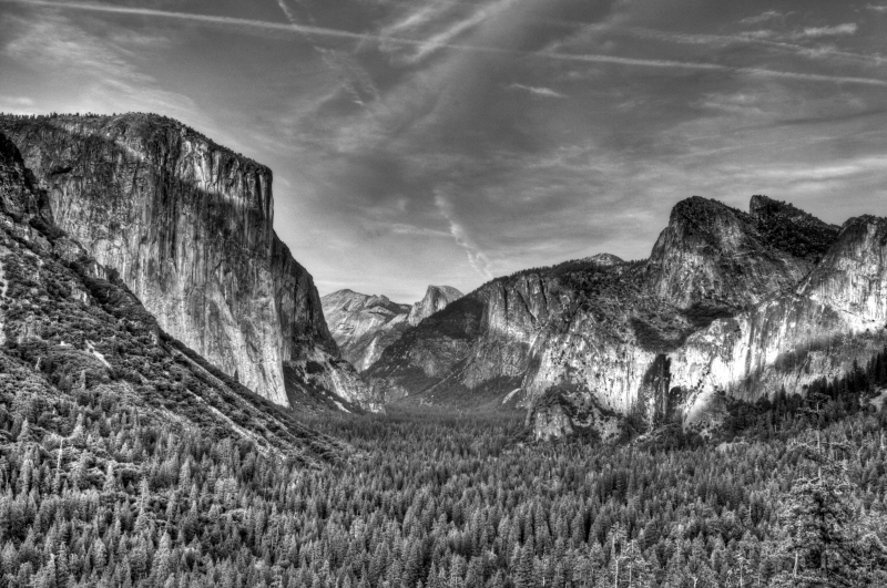 Yosemite From Tunnel View