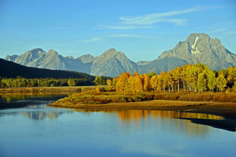 Mt. Moran At Oxbow Bend