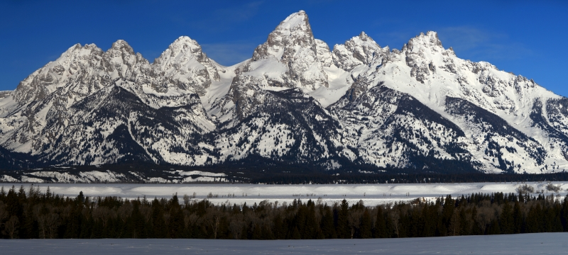 Tetons From Glacier View