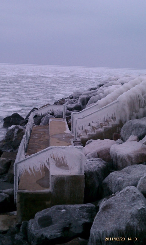 The Icy Stairway