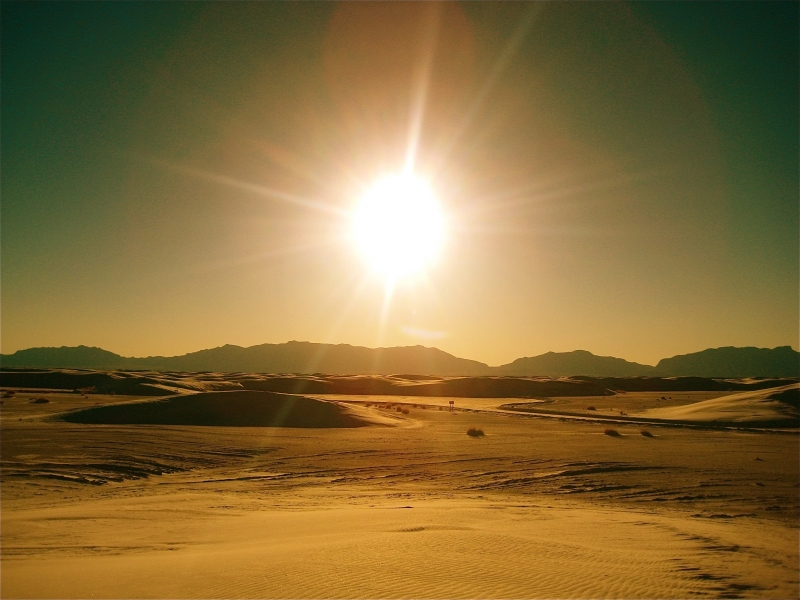 Golden White Sands