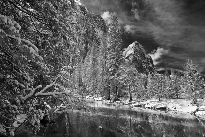 California, Yosemite National Park, Winter