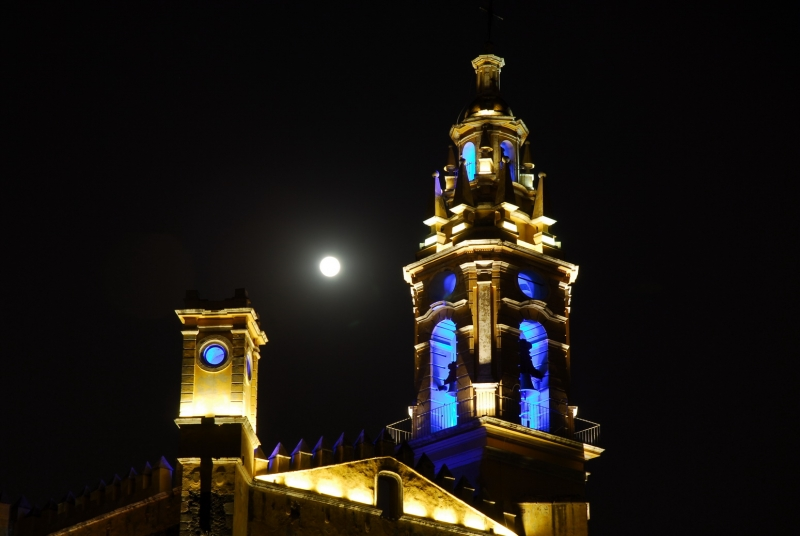 Ex-monastery Tower In The Nigth