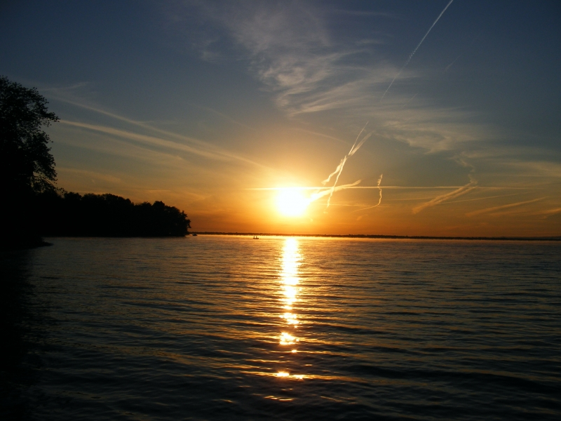 Sunrise On Oneida Lake
