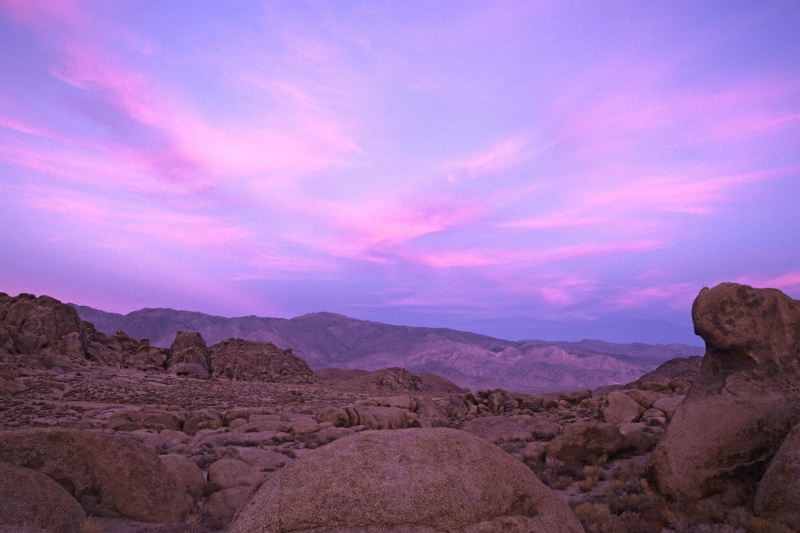 East Of The Alabama Hills