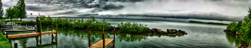 Storm Over Leech Lake