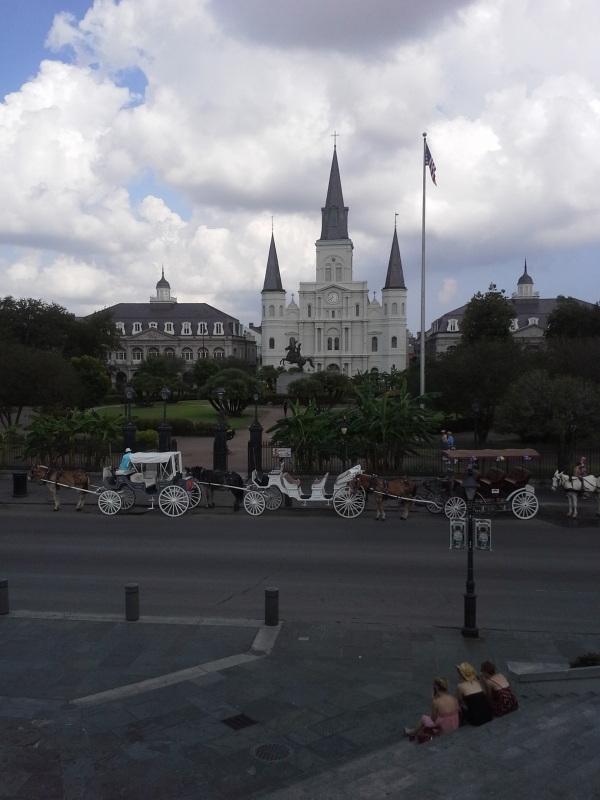 Jackson Square, French Quarter, New Orleans, Louisiana