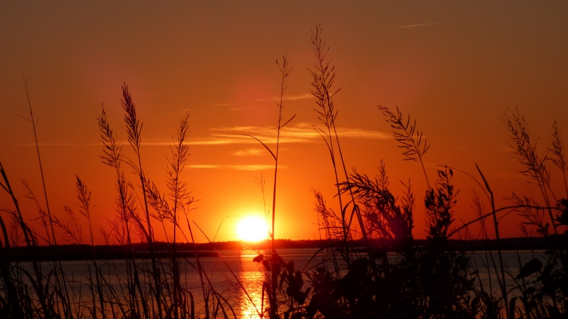 Sunset Over Currituck Sound