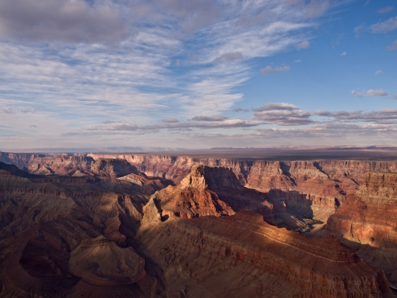 Bird's Eye View Of Grand Canyon