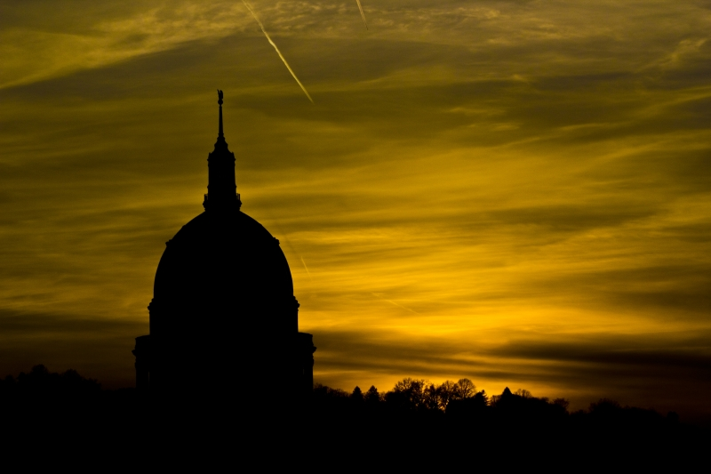 Capitol Dome Sunset