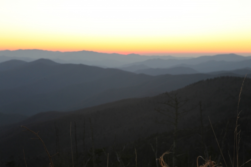 Sunset In The Smokeys