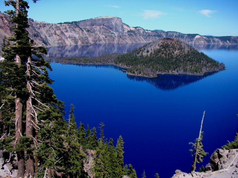 The Deep Blue Lake