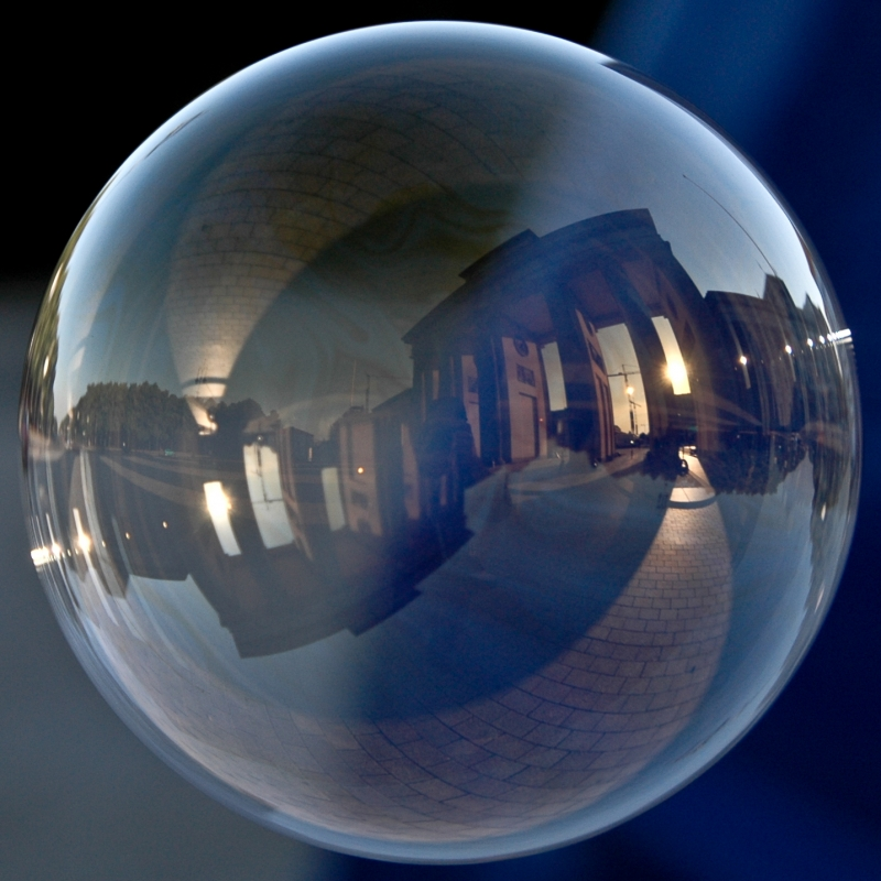 Brandenburg Gate In A Bubble