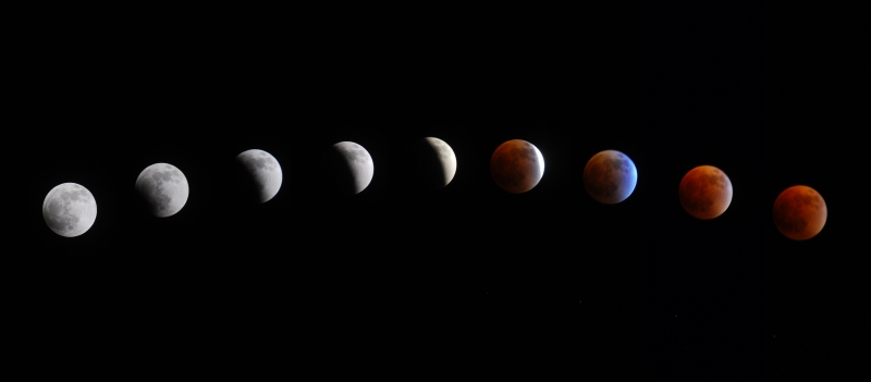 Blue Moon, Red Moon